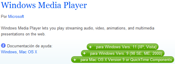 Complemento Media Player