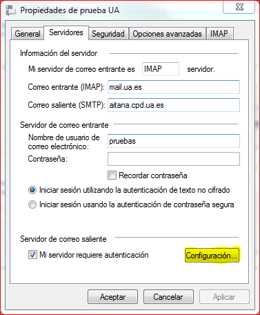 Configuración con autenticación en windows mail (1)