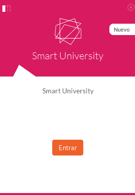 Pestaña introductoria a Smart University