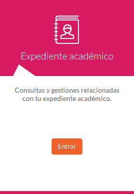 Expediente académico